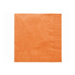 Papierové obrúsky Standard 33cm/20ks - oranžové