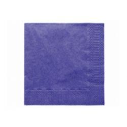 Papierové obrúsky Standard 33cm/20ks - tmavo modré
