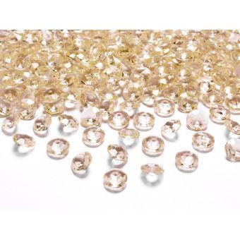 Zlaté diamanty 12mm