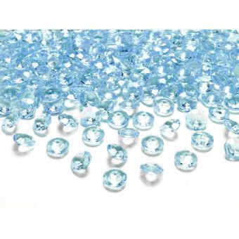Tyrkysové diamanty 12mm