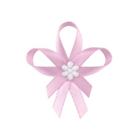Ružové svadobné pierka pre hostí