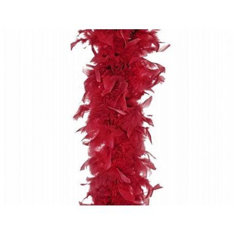 d3590e3d00ce0 Červené BOA z peria - Rekvizity na fotenie - Rozlúčka so slobodou