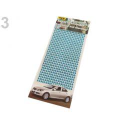Samolepiace svetlo modré kamienky kryštáľ - 4mm