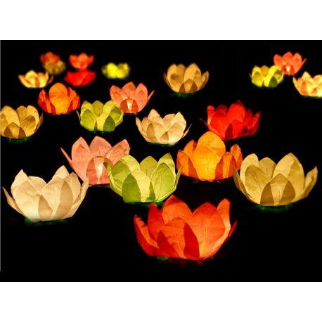 Plávajúce lampióny - mix farieb