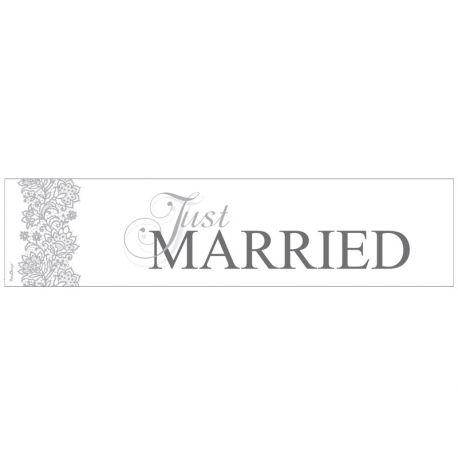 Svadobná ŠPZ - Just Married