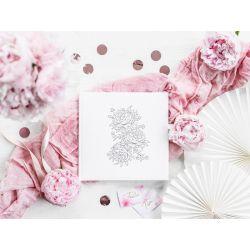 Svadobná kniha hostí s dekoráciou
