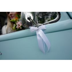 Mašľa na svadobné auto