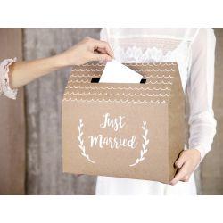 Svadobná krabička na obálky