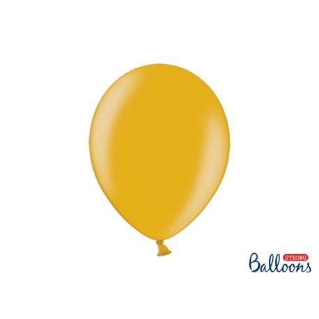 Zlatý metalický balón