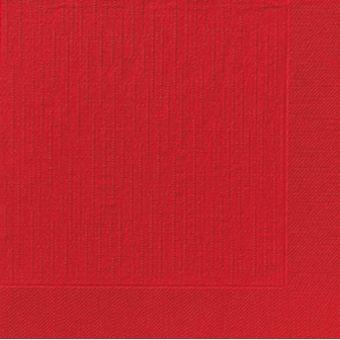 Červené obrúsky Premium 40cm -50ks