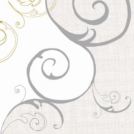 Krémové luxusné obrúsky Vincent 40x40cm