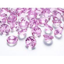 Ružové diamanty 20mm