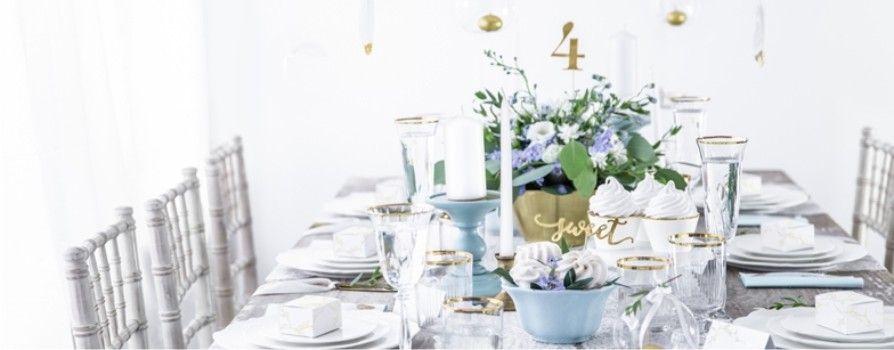 Výzdoba svadobných stolov